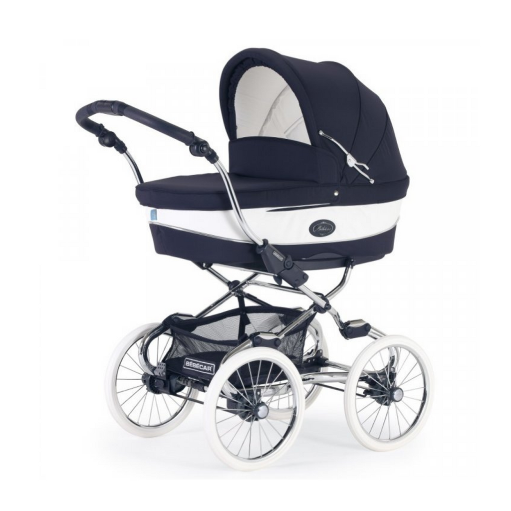 Bebecar Stylo Class + Class Combi Travel System Bundle - Oxford Blue