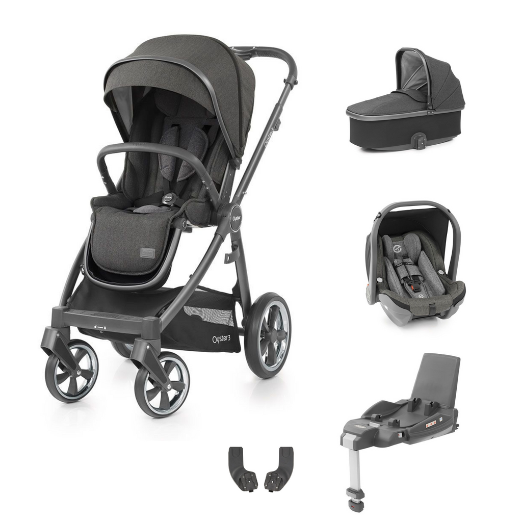 Babystyle Oyster 3 Bundle - City Grey Chassis/Pepper