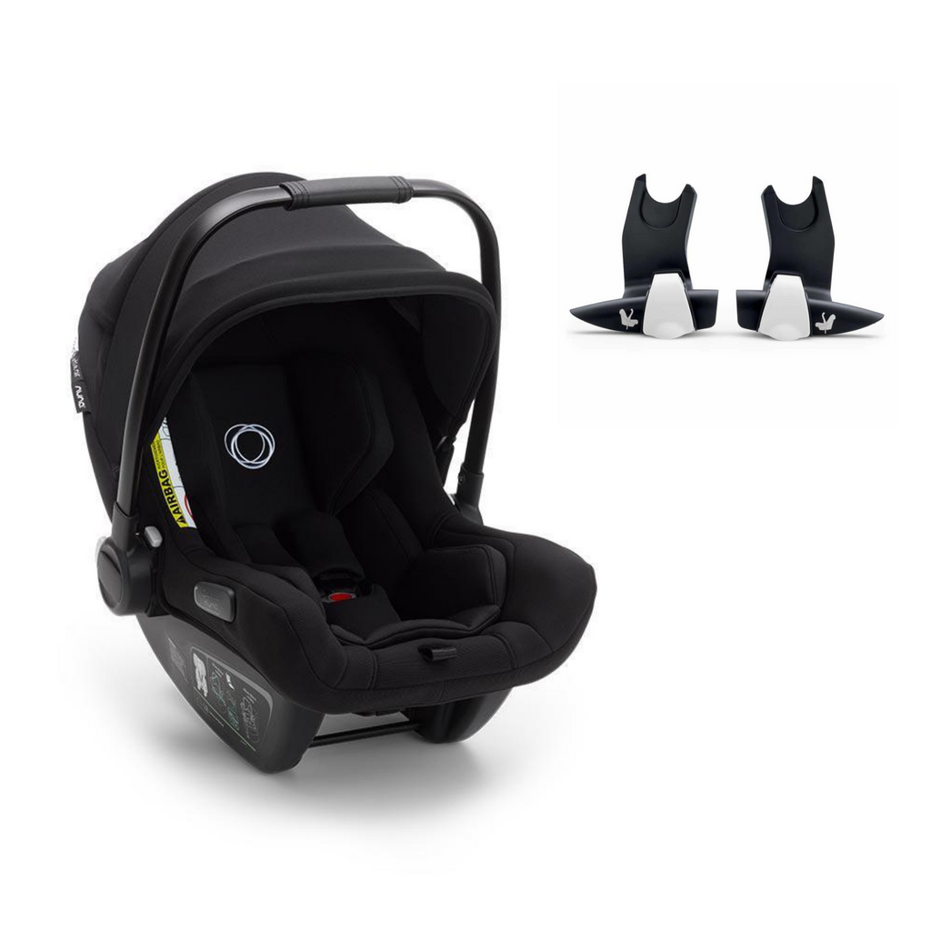 Bugaboo Turtle Air by Nuna Car Seat & Bee Adapters - Black