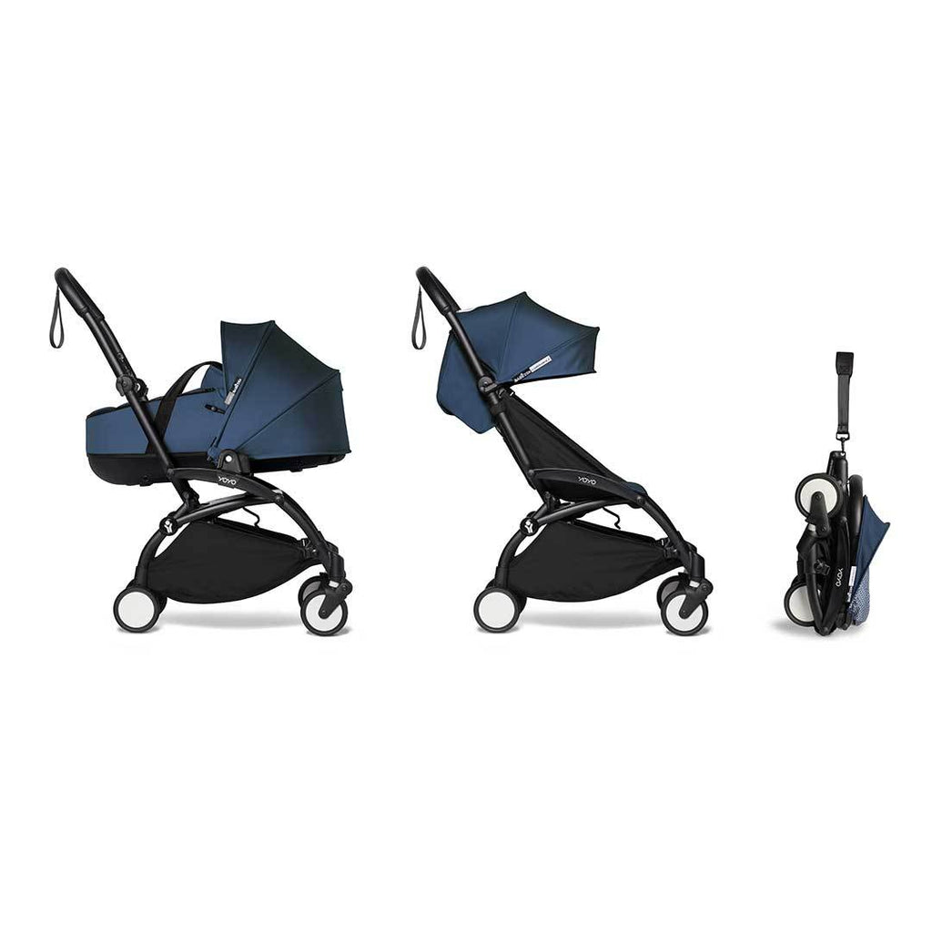 BABYZEN YOYO2 Complete Stroller + Bassinet - Air France Blue