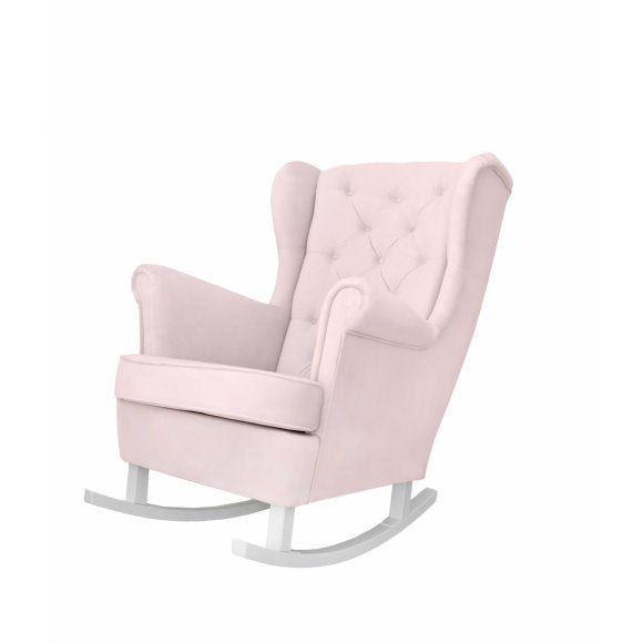 Caramella Baby pink rocking armchair - Beautiful Bambino