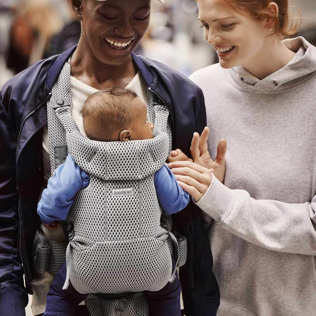 BabyBjorn Move 3D Mesh Baby Carrier - Grey
