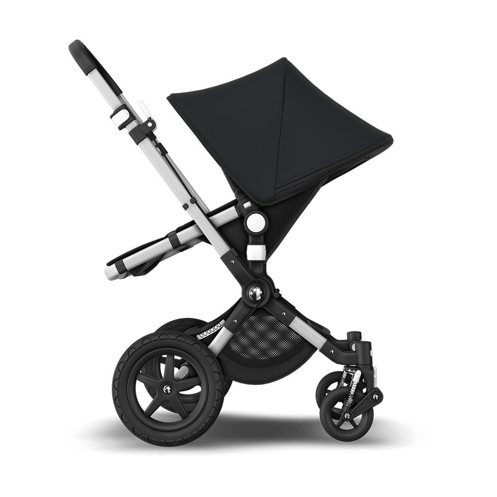 Bugaboo Cameleon3Plus Complete Pushchair - Aluminium + Black