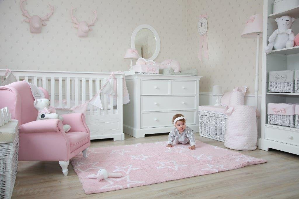 Caramella Baby pink quilted moose - Beautiful Bambino