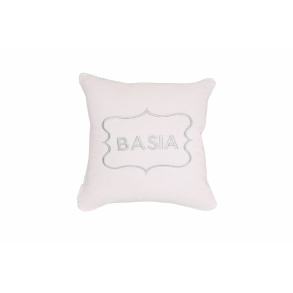 Caramella Customized Velour Pink Pillow - Beautiful Bambino