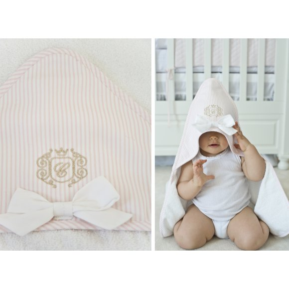 Caramella Golden Chic Towel for Girls - Beautiful Bambino