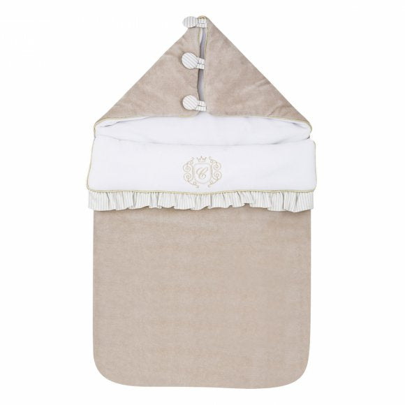Caramella Sleeping Bag in Golden Sand - Beautiful Bambino