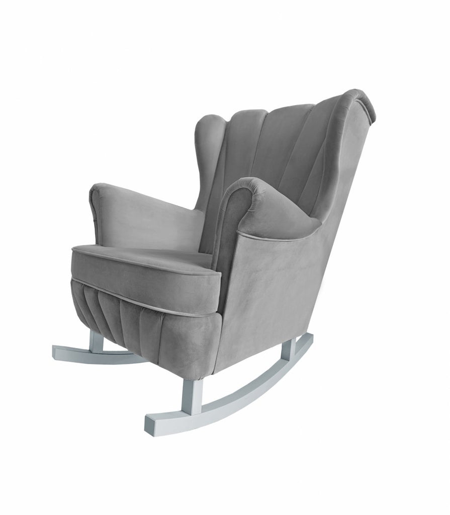 Caramella Anthracite Gloss Rocking Armchair Shell