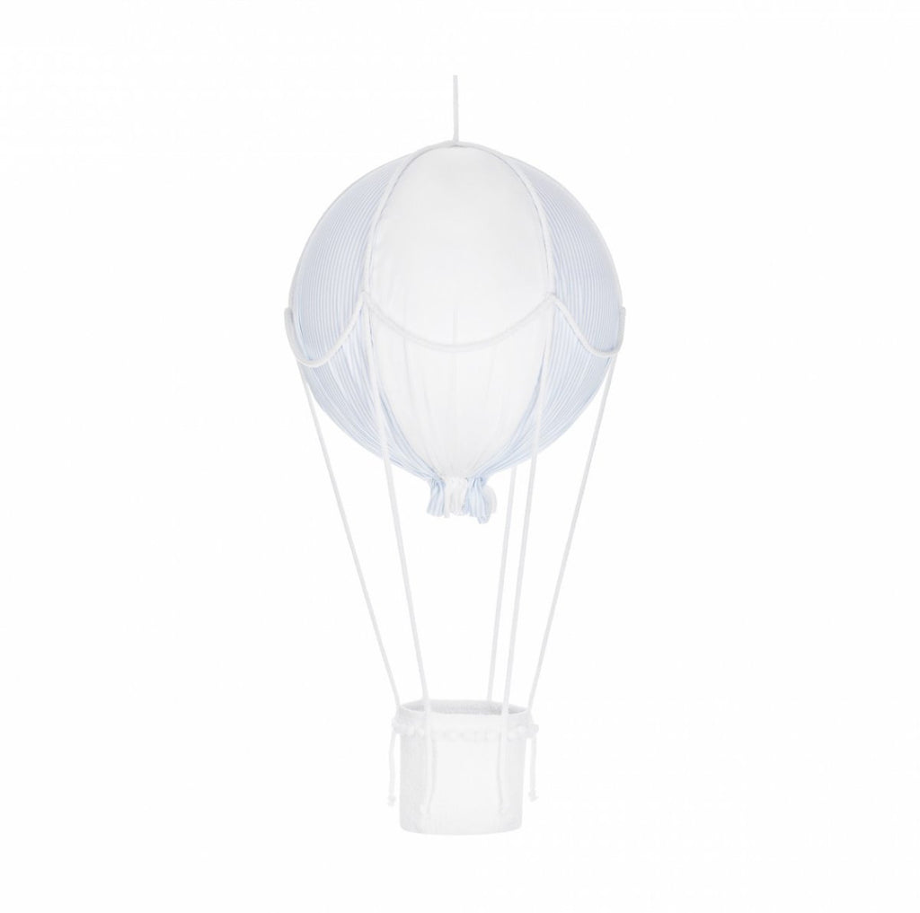 Caramella Decorative Hot-Air Balloon Blue/White - Beautiful Bambino