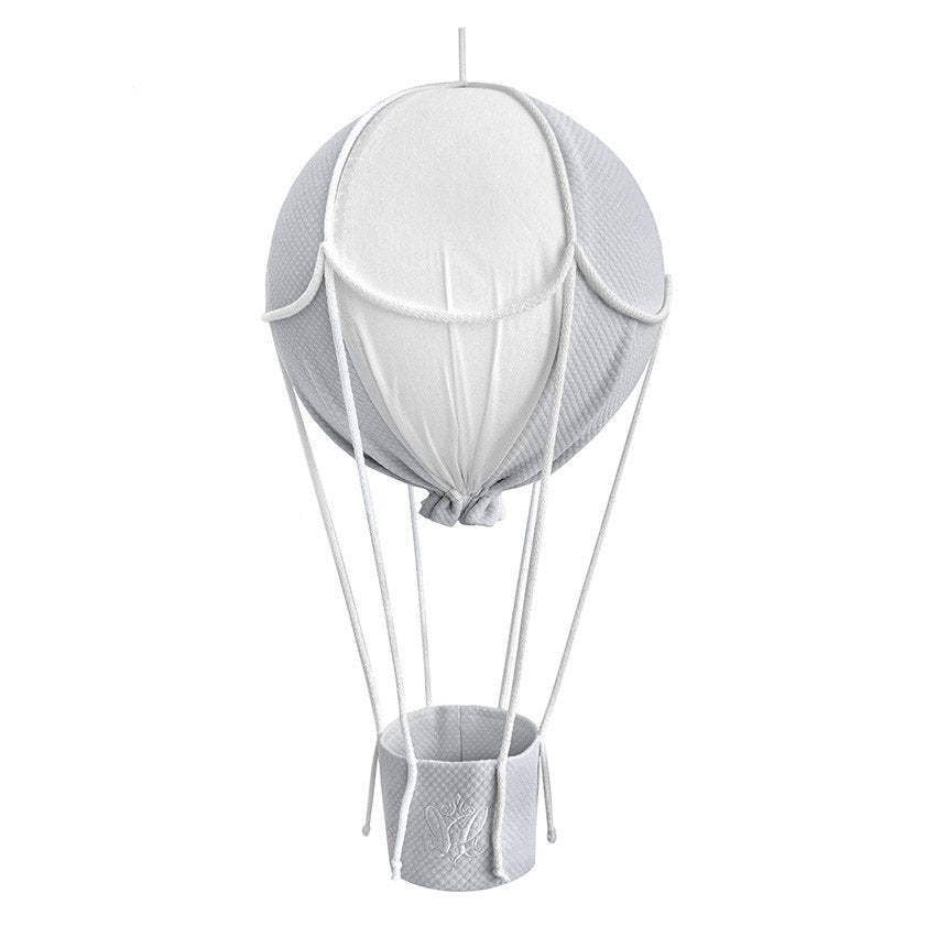 Caramella Decorative Hot-air Balloon Grey/White - Beautiful Bambino