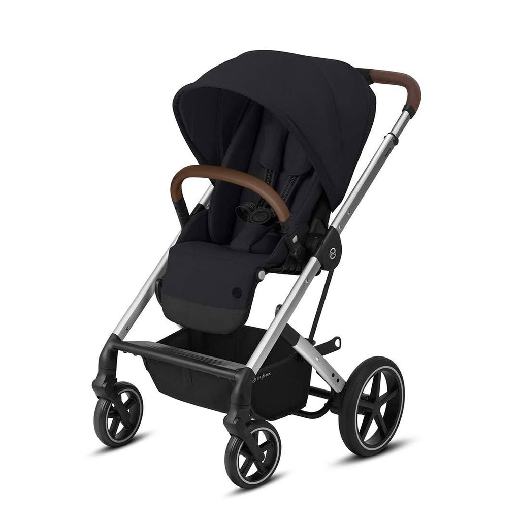 Cybex Balios S Lux Pushchair - Deep Black & Silver - Beautiful Bambino