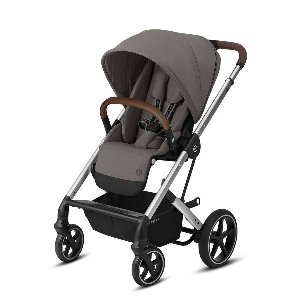 Cybex Balios S Lux Pushchair - Soho Grey & Silver - Beautiful Bambino