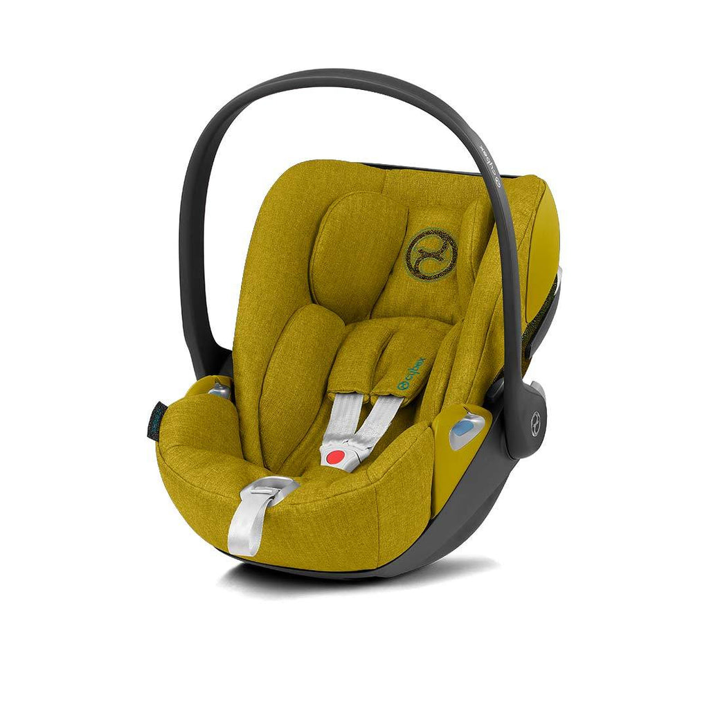 Cybex Cloud Z i-Size Plus Car Seat - 2020 - Mustard Yellow - Beautiful Bambino