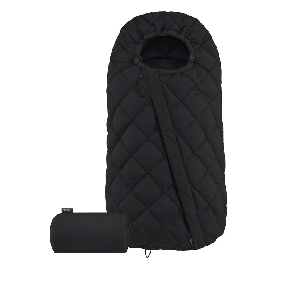 Cybex Snogga Footmuff - Deep Black - Beautiful Bambino