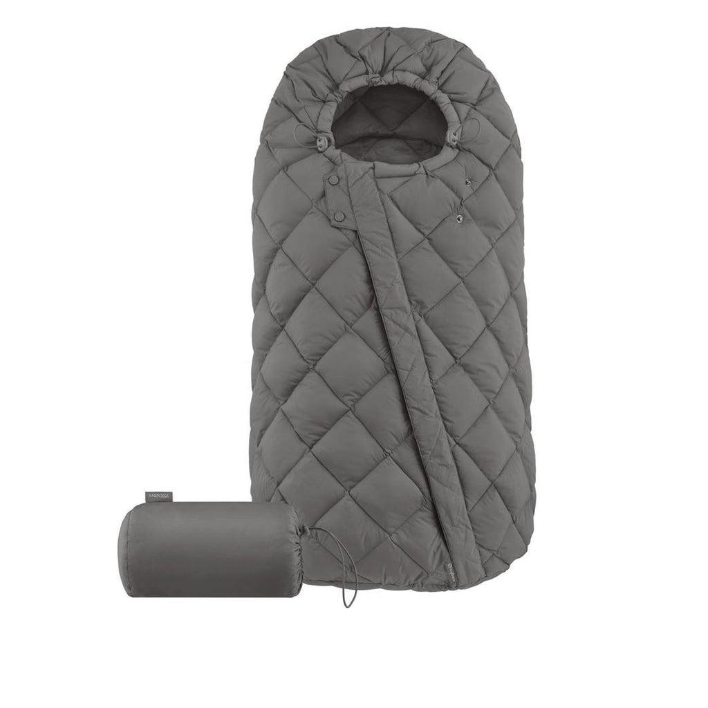 Cybex Snogga Footmuff - Soho Grey - Beautiful Bambino