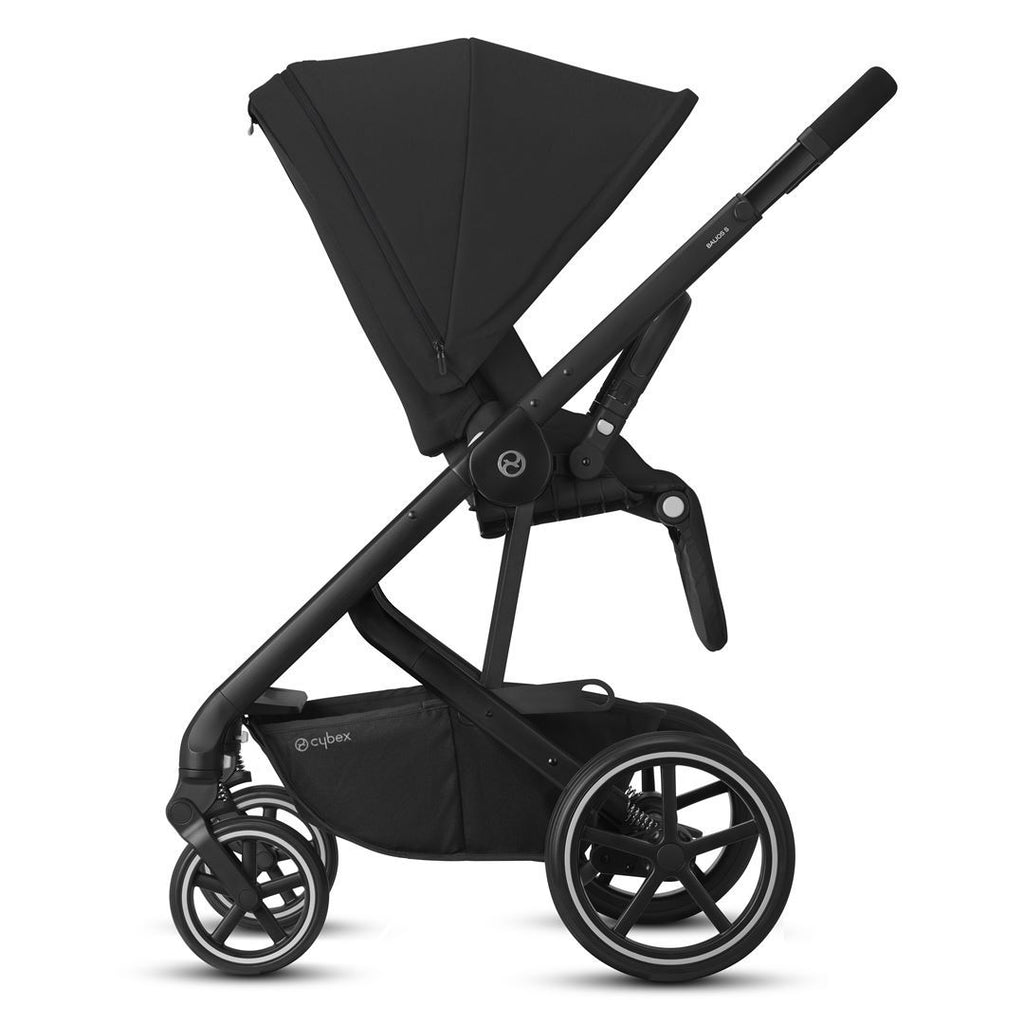 Cybex Balios S Lux Pushchair - Deep Black & Black
