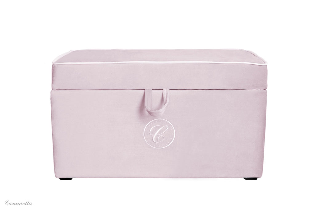 Caramella Pink Trunk With Emblem - Beautiful Bambino