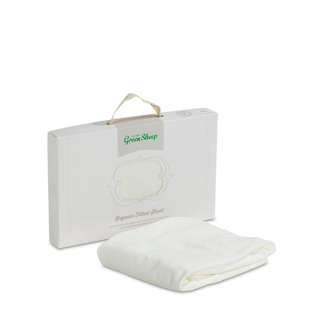 Organic Crib Jersey Fitted Sheet - Beautiful Bambino