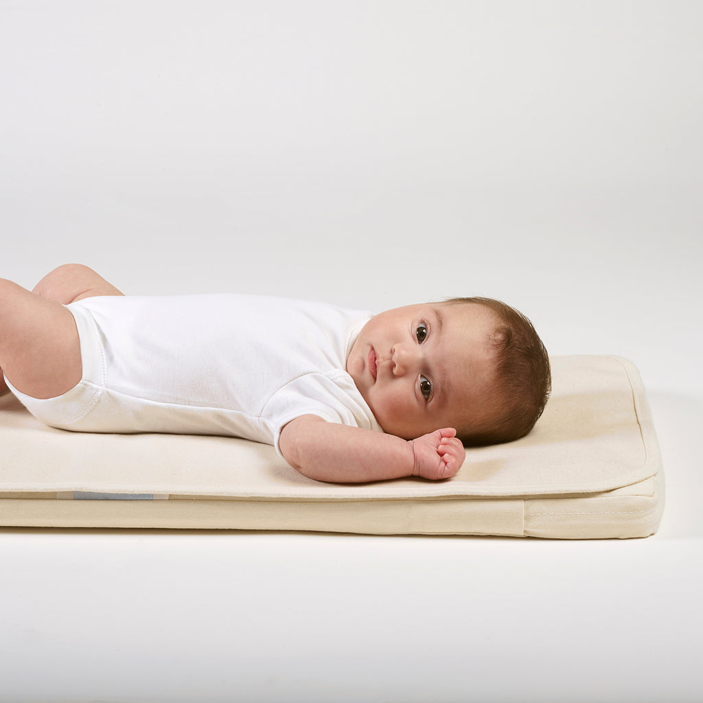 Organic Crib Mattress Protector - Beautiful Bambino
