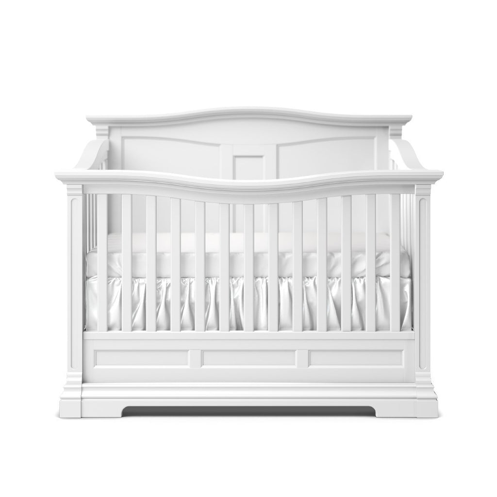 Imperio Convertible Crib / Solid Back - Beautiful Bambino