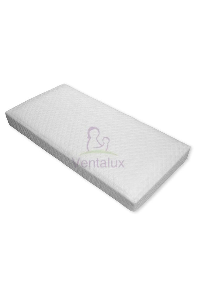 Deluxe Quilted Framed Pocket Sprung Interior Cot Mattress - Beautiful Bambino