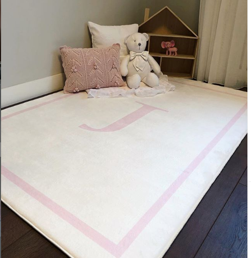 Personalised Initial Rug - Beautiful Bambino