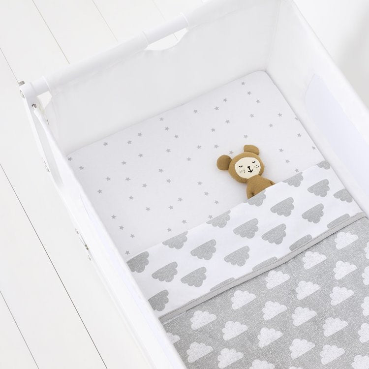 Snuz 3pc Crib Bedding Set - Cloud Nine - Beautiful Bambino