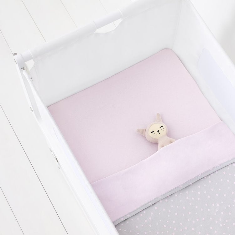 Snuz 3pc Crib Bedding Set - Rose Spots - Beautiful Bambino