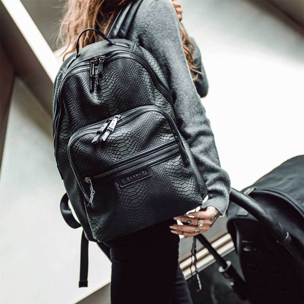 Tiba + Marl Elwood Backpack - Snake