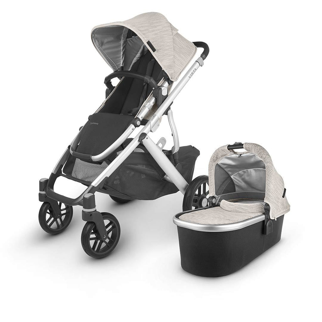 Uppababy Vista Pushchair + Carrycot V2 - 2020 - Sierra - Beautiful Bambino