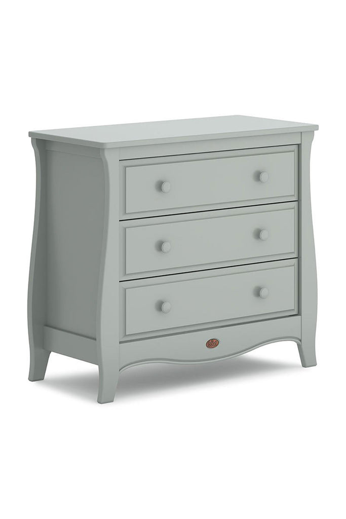 Urbane by Boori Sleigh 3 Drawer Chest - Pebble - Beautiful Bambino