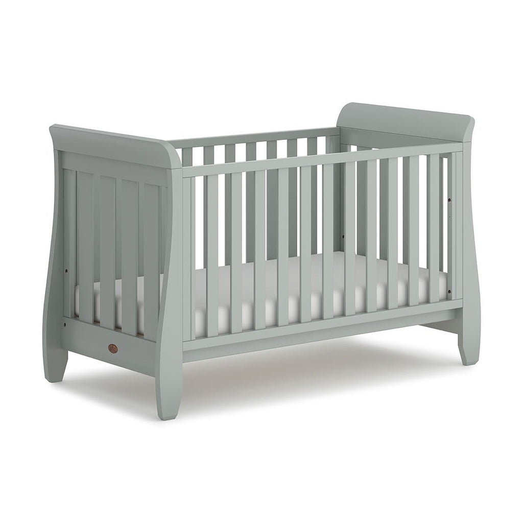 Urbane by Boori Sleigh Cot Bed - Pebble - Beautiful Bambino