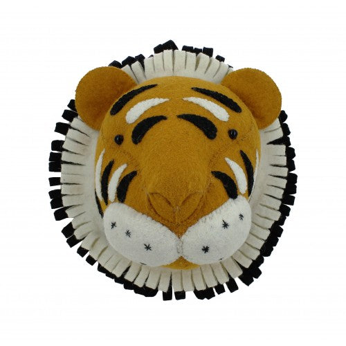 Fiona Walker Tiger Head (Mini) - Beautiful Bambino