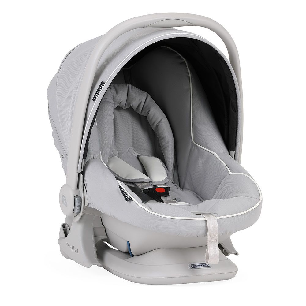 Bebecar Ip-Op XL Complete Travel System Pack & Raincover - Dove Grey