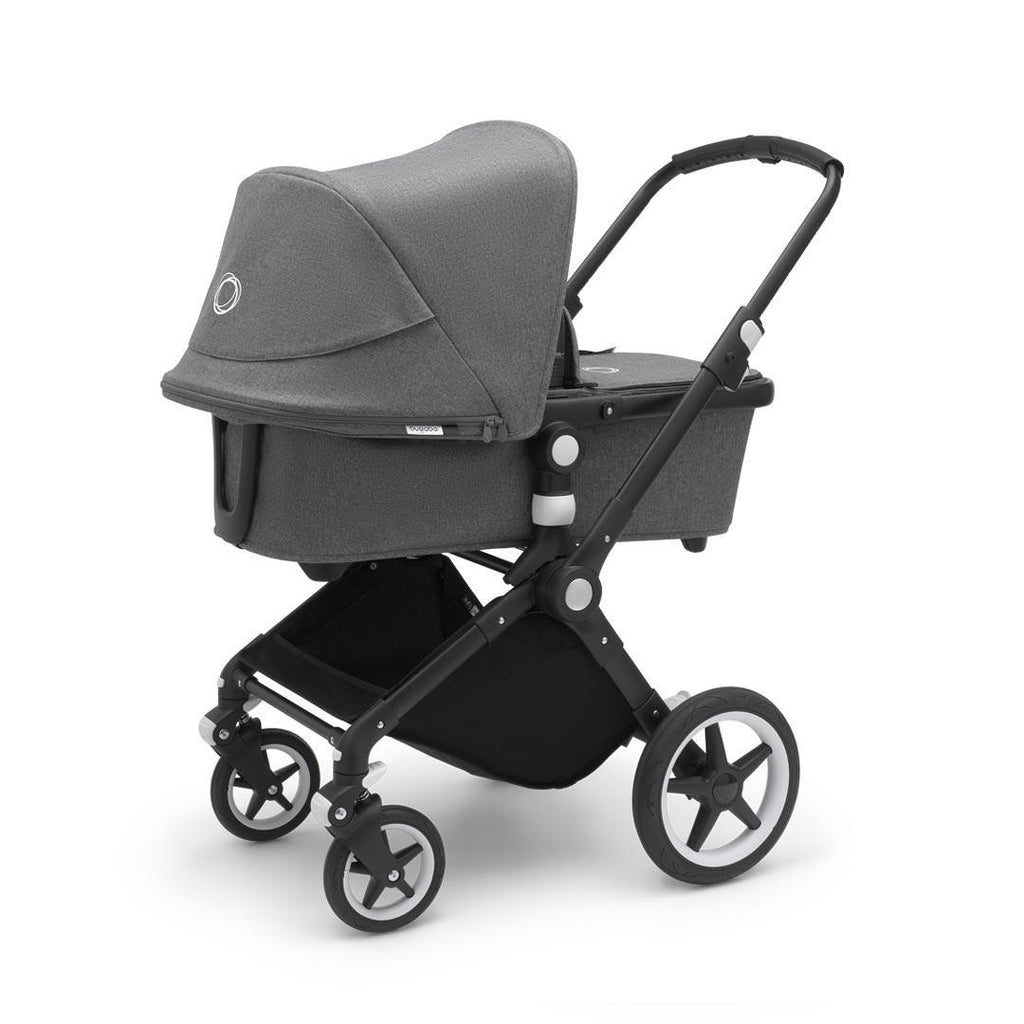 Bugaboo Lynx Complete Pushchair - Black + Grey Melange
