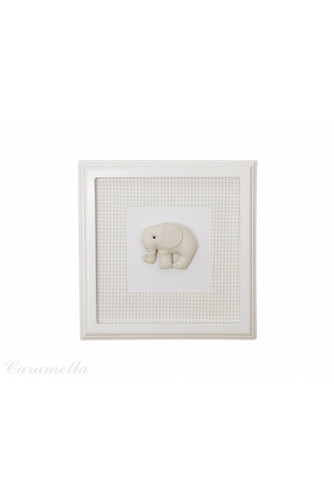 Caramella Beige picture with beige elephant - Beautiful Bambino