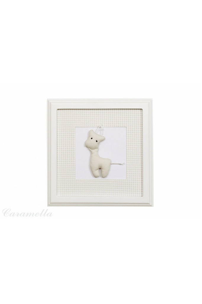 Caramella Beige picture with beige giraffe - Beautiful Bambino