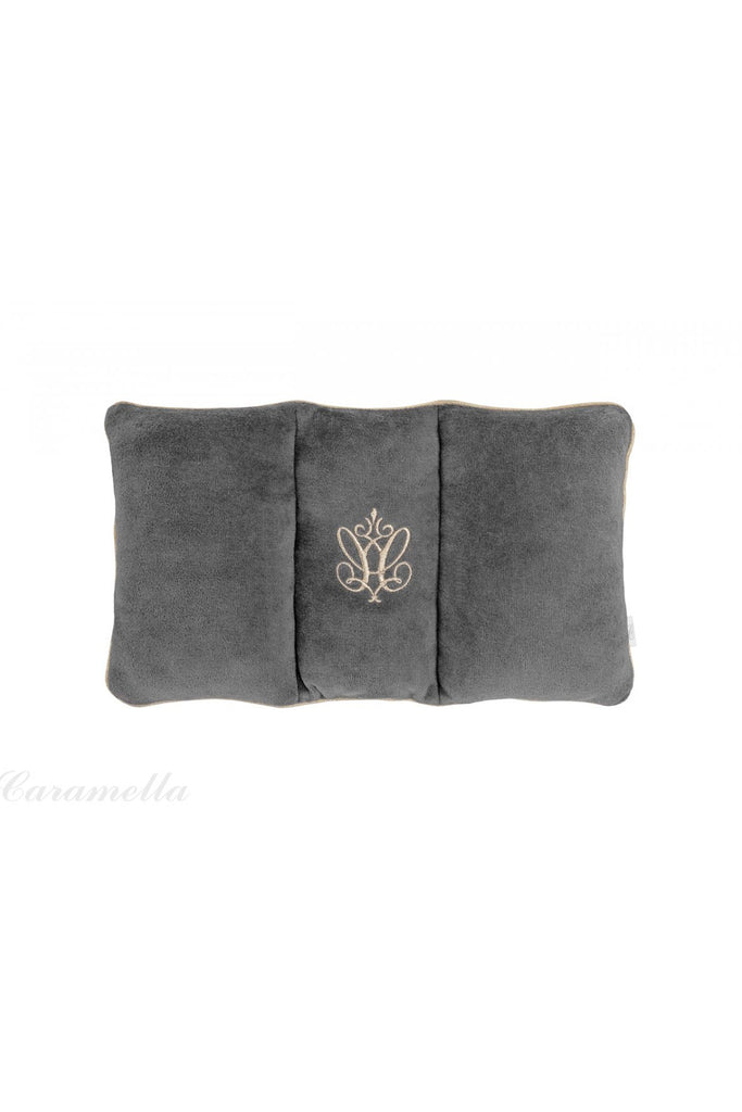 Caramella Anthracite Gloss travel pillow - Beautiful Bambino