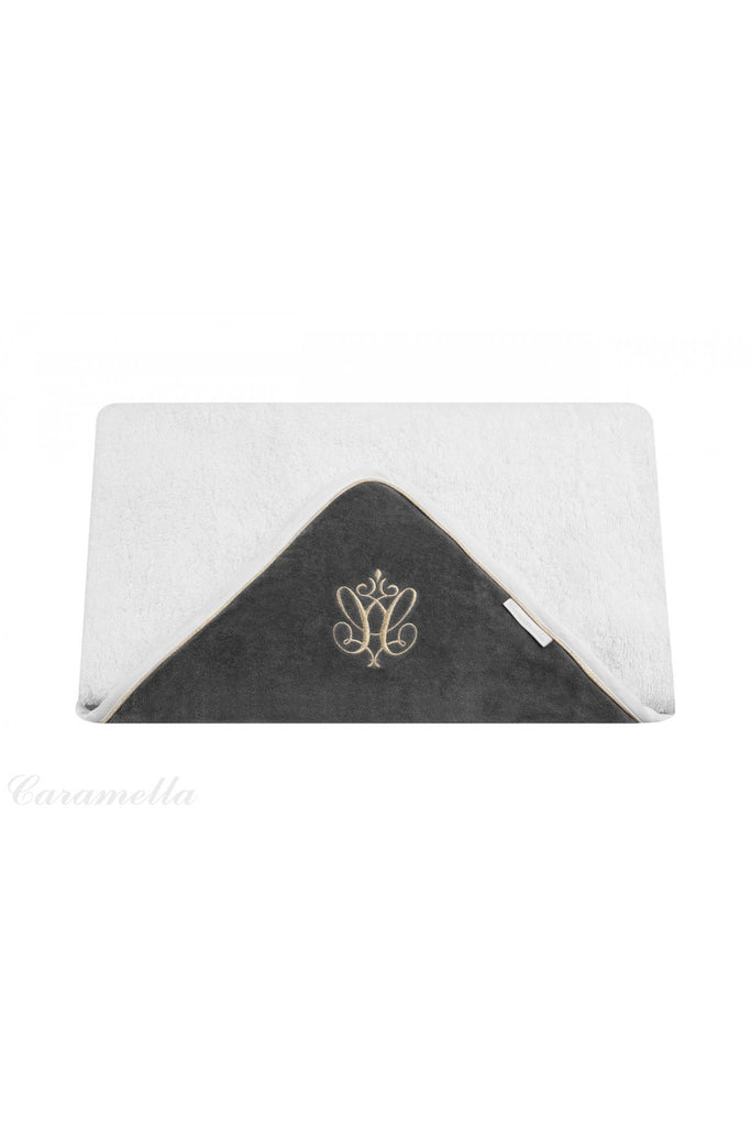 Caramella Towel Anthracite Gloss - Beautiful Bambino