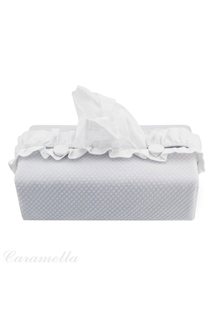 Caramella Pure Grey Wipes Cover - Beautiful Bambino