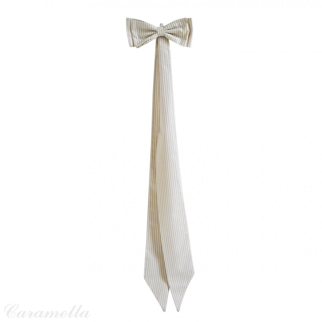 Caramella Decorative Bow in Golden Sand - Beautiful Bambino