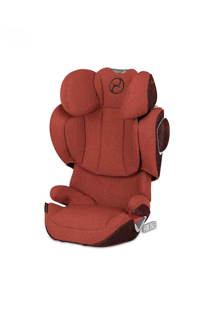 Cybex Solution Z-Fix Plus Car Seat - 2020 - Autumn Gold - Beautiful Bambino