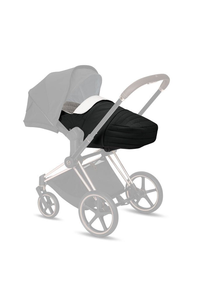 Cybex Lite Cot - 2020 - Deep Black - Beautiful Bambino
