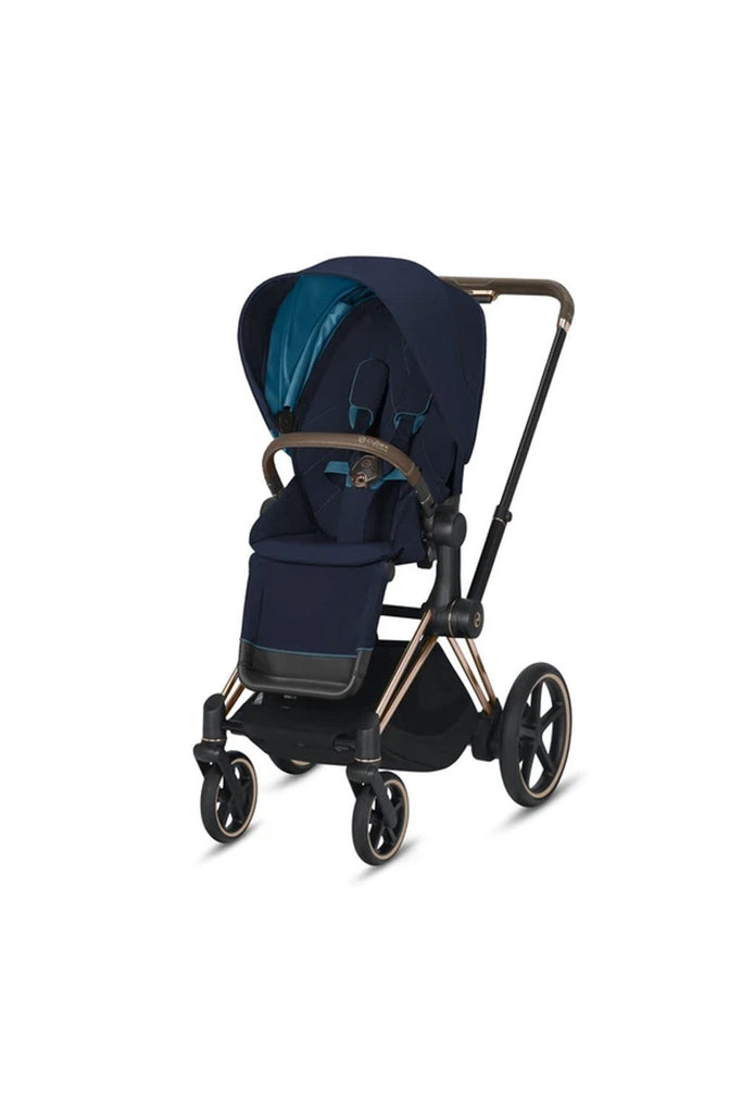 Cybex e-Priam Pushchair 2020 - Nautical Blue - Beautiful Bambino