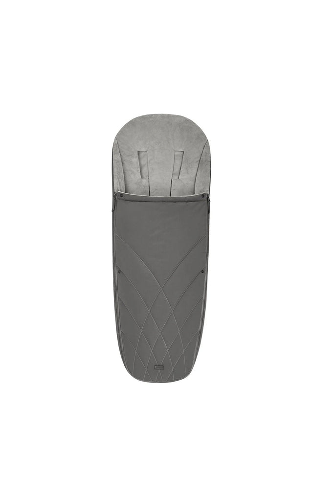 Cybex Platinum Footmuff - Soho Grey - Beautiful Bambino