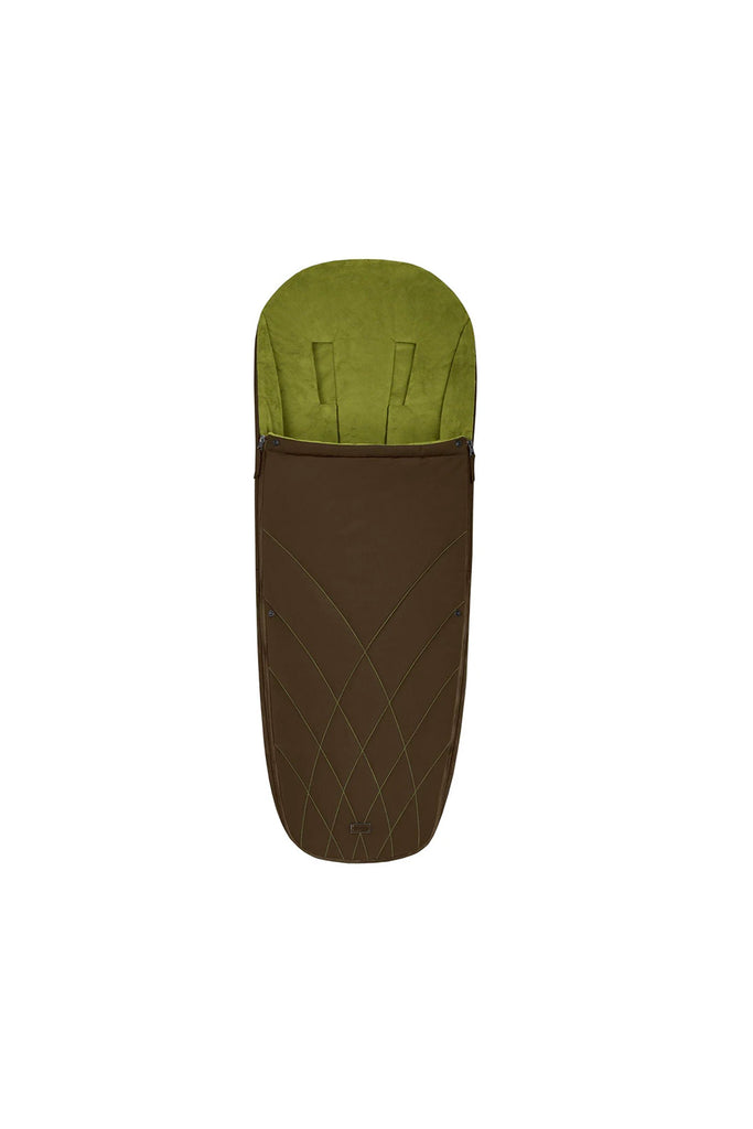 Cybex Platinum Footmuff - Khaki Green - Beautiful Bambino