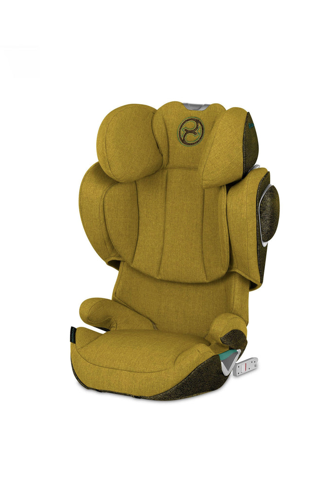 Cybex Solution Z-Fix Plus Car Seat - 2020 - Mustard Yellow - Beautiful Bambino