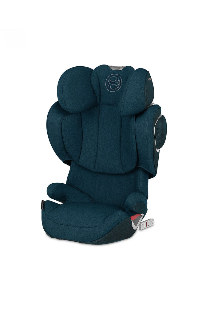 Cybex Solution Z-Fix Plus Car Seat - 2020 - Mountain Blue - Beautiful Bambino