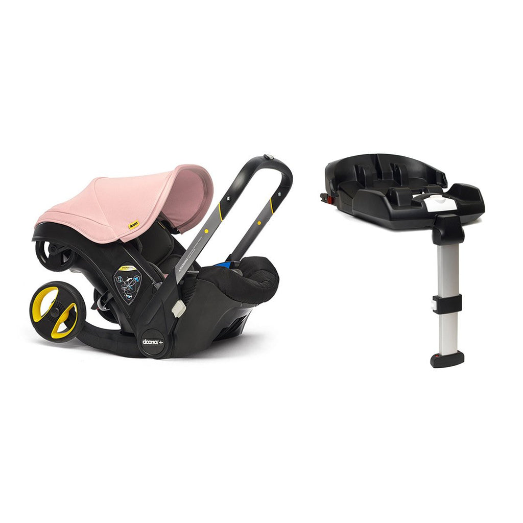 Doona+ Infant Car Seat + Base - Blush Pink