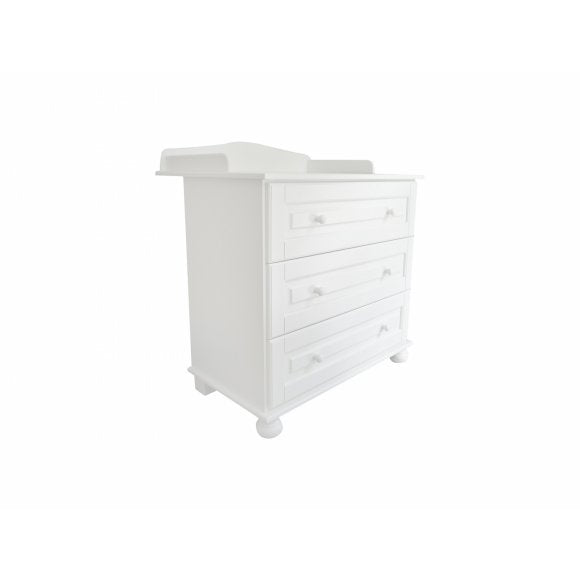 Caramella Romantic Line Dresser with Changing Station - Beautiful Bambino